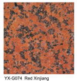 Red Xinjiang granite