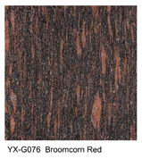 Broomcorn Red granite