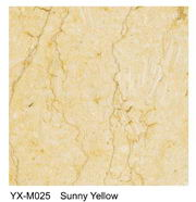 Sunny Yellow Marble